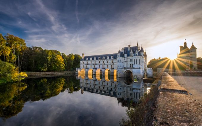 Chateau de Chenonceau - France by AntoineBarthelemyPhoto - Image Of The Month Photo Contest Vol 27