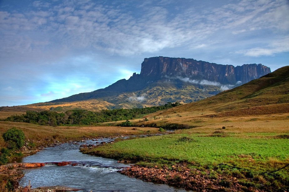 "On the way to famous Roraima mount which inspired Conan Doyle to write ""The Lost World&a..."