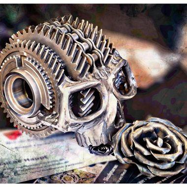 Artistic metalwork.