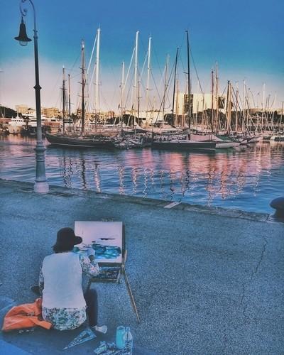 Real street artist