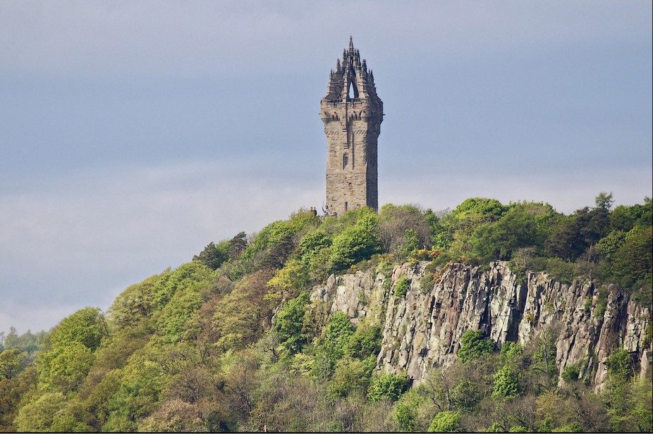 Wallace monument Stirling,  Scotland