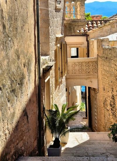 Alleyway in Korcula