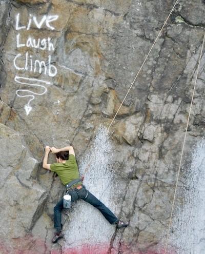 Live, Laugh, Climb