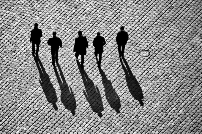 Dead Men Walking by frankseltmann - High Vantage Points Photo Contest
