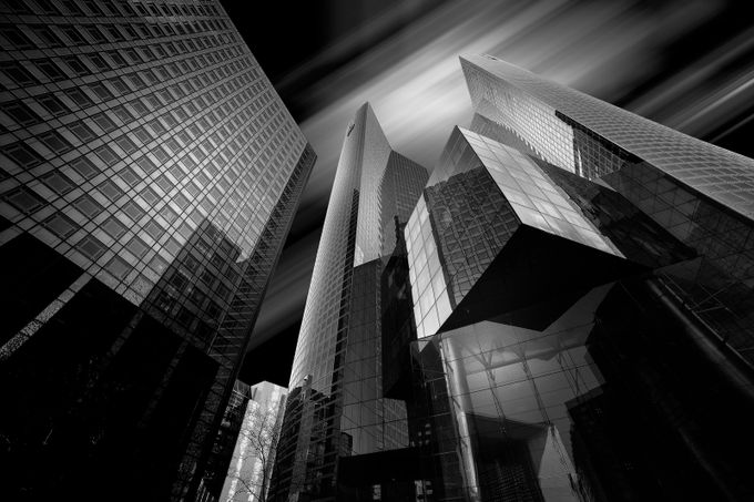 Architecture Photography Black And White : Paris La Défense by tristan29photography - Image Of The Month Photo Contest Vol 27