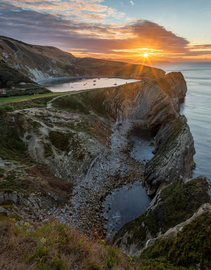 Lulworth by cherrilscottmorley - High Vantage Points Photo Contest
