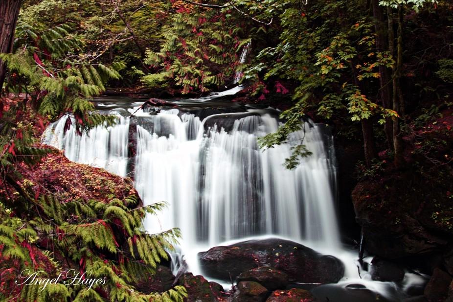 Colors of waterfalls