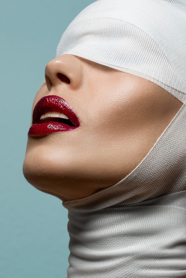 Red lips by JackHoier - Showcase Lips Photo Contest