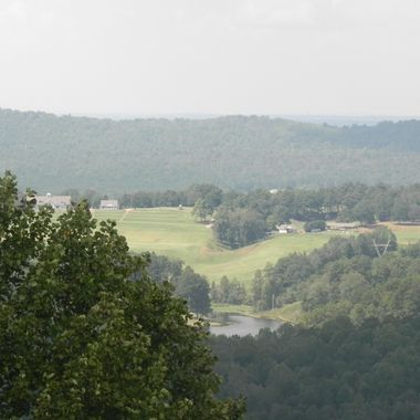 From Shades Mountain in Bluff Park, a suburb of Birmiingham, AL