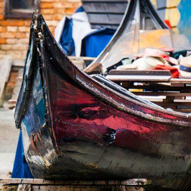 Squero di San Trovaso in Venice has been repairing gondolas since 1884.