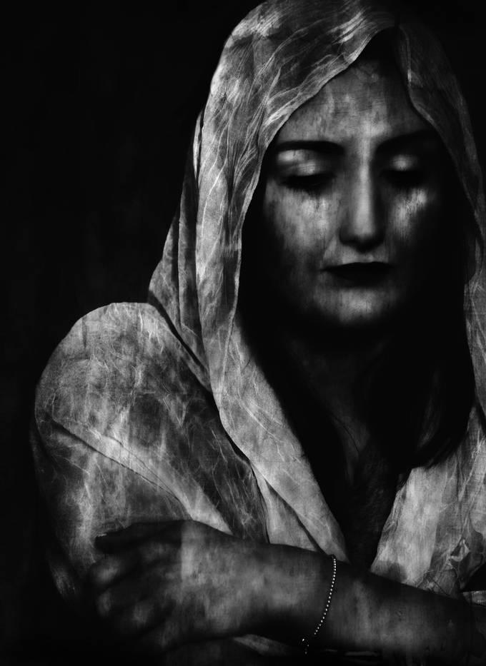 Capturing her inner saddness.