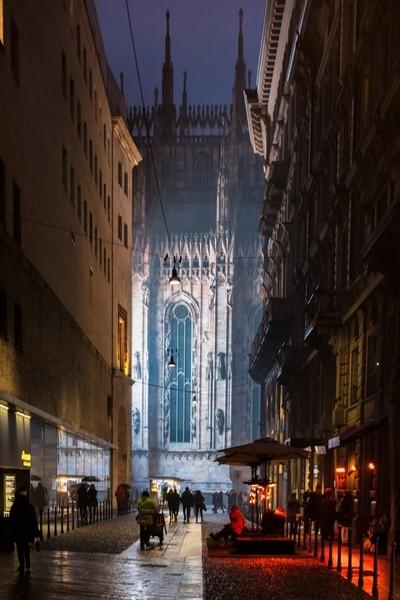 Milan Cathedral Night