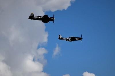 Mustang And Corsair