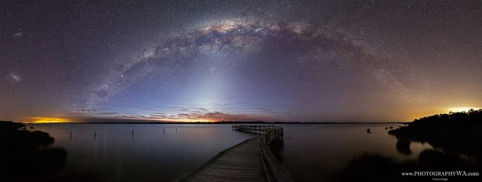 Lake_Clifton_Web_Sig2 by WAeagle - The Milky Way Photo Contest