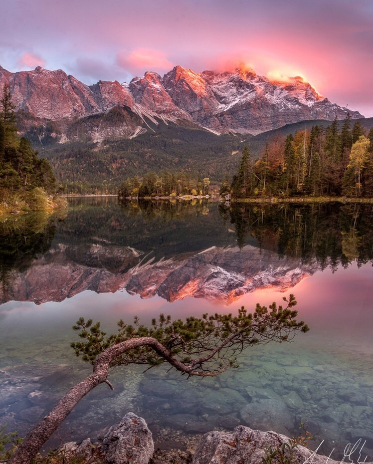 Eibsee by AndyMathysPhotography - Social Exposure Photo Contest Vol 12