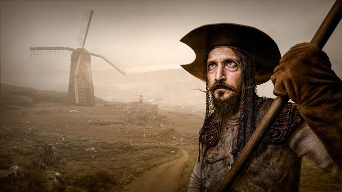 tilting windmills by godriguez - Beards and Mustaches Photo Contest