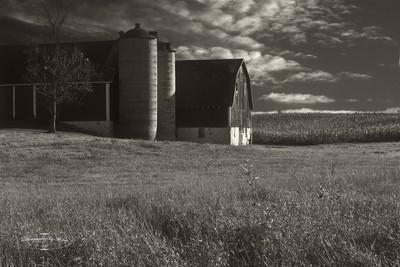 Wisconsin Barn Sunset