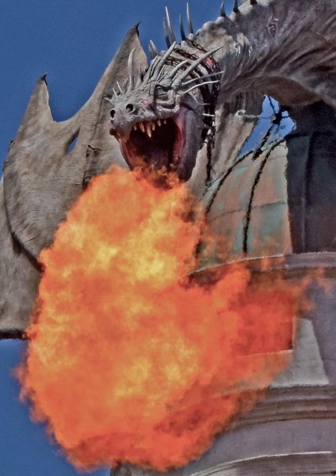 Gringots Dragon 3