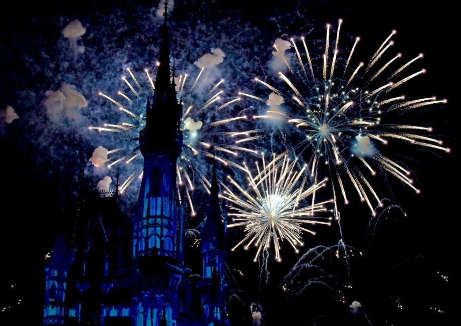 Happy ever after fireworks