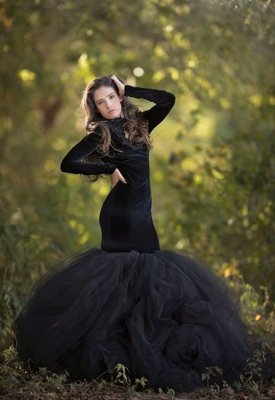 Beautiful in Black Couture