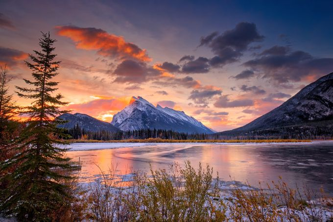 Mount RUNDLE by brianadamson - Covers Photo Contest Vol 43