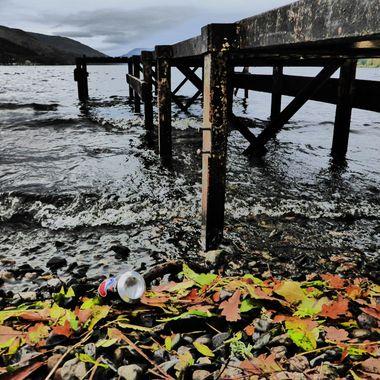 at Loch Earn