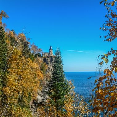 On the North Eastern shore of Minnesota and Lake Superior.