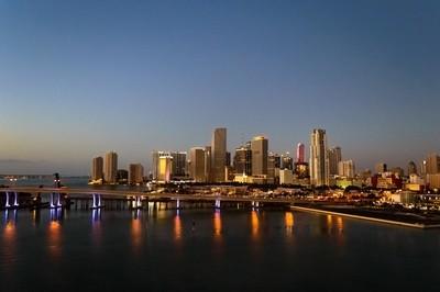 Miami Skyline at Sunrise