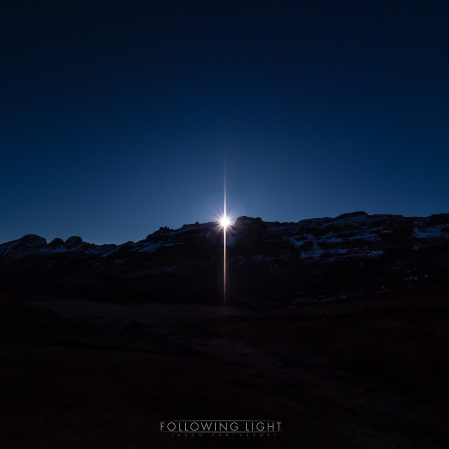 Star Rise by followinglight - Creative Landscapes Photo Contest
