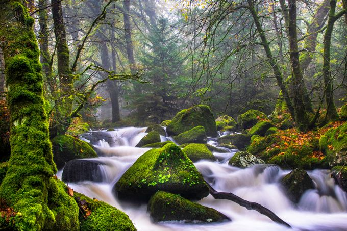 tumbling river by saltashman - Creative Landscapes Photo Contest