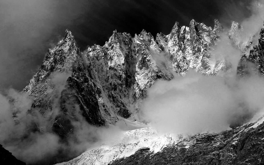 Taken on a climbing trip in the Mont Blanc region