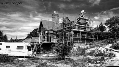 The broken house.