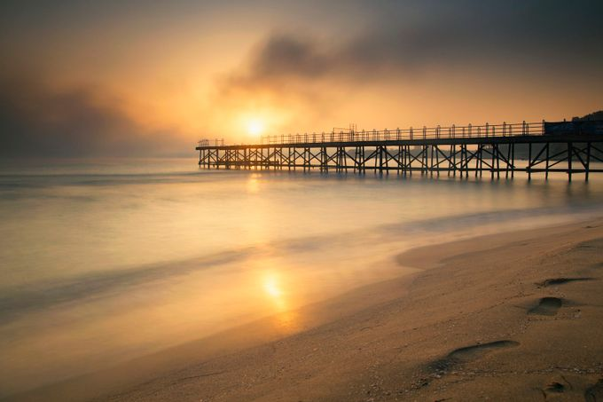 At sunrise by plamenpetkov - Promenades And Boardwalks Photo Contest
