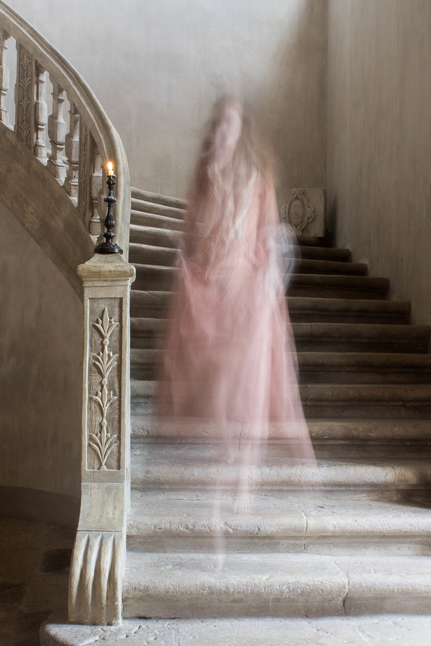 Ghost on the Stairs by GoKiriDesigns - Blurred Subjects Photo Contest