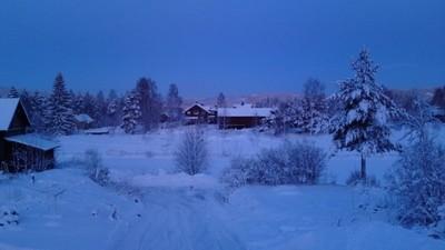 Winter morning in Dalarna 120106