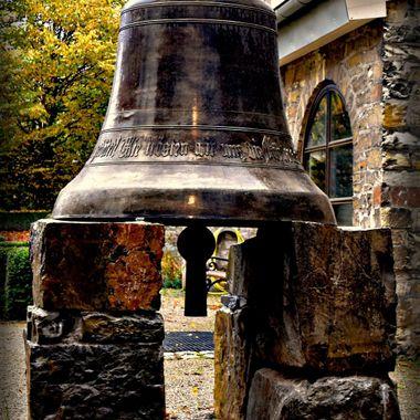 Bell at Paderborn museum.