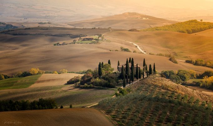 Autumn in Tuscany by Katjusa_Karlovini - Monthly Pro Vol 37 Photo Contest