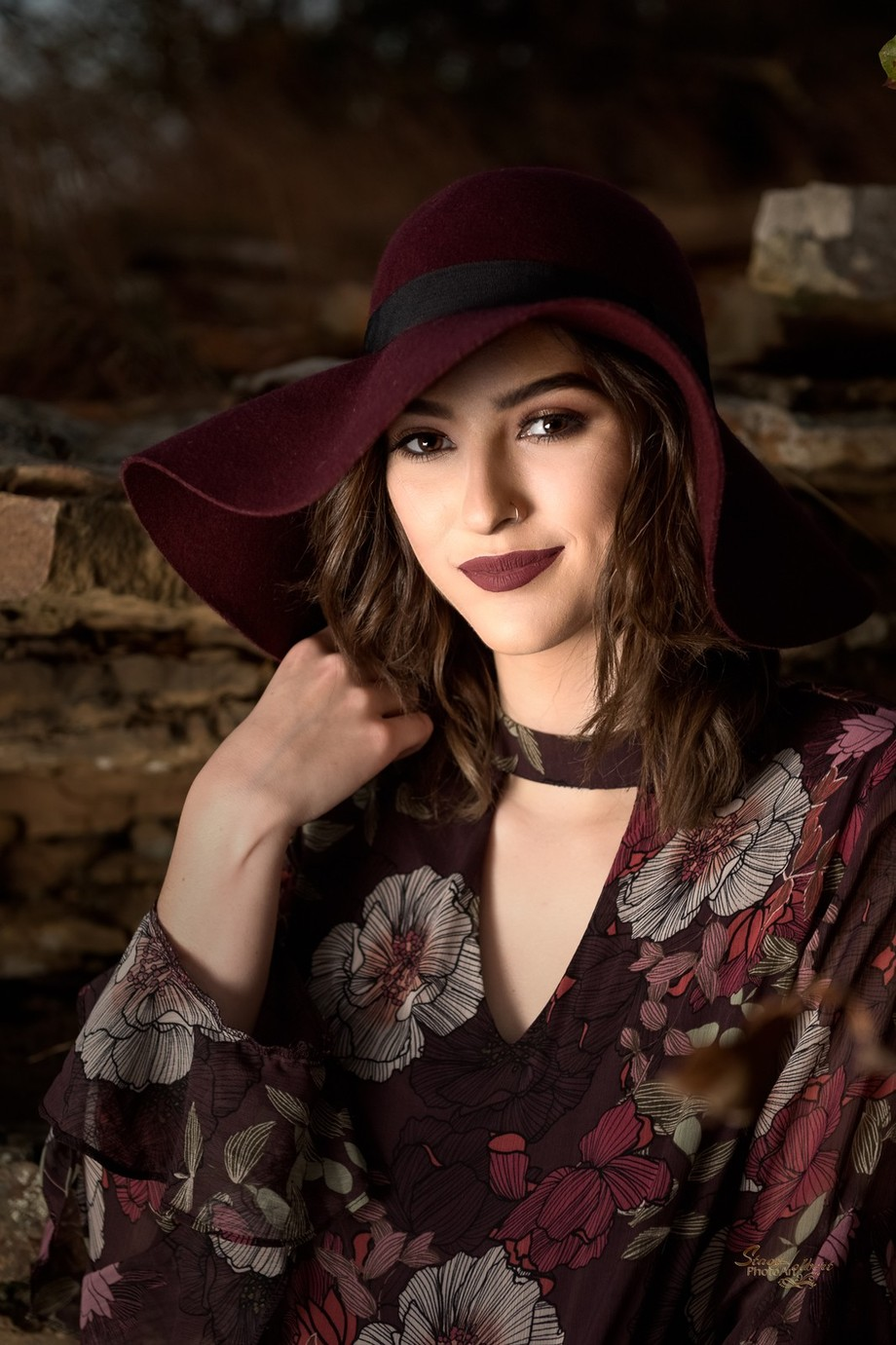 Haley w Hat - color by sjholbert - Elegant Moments Photo Contest