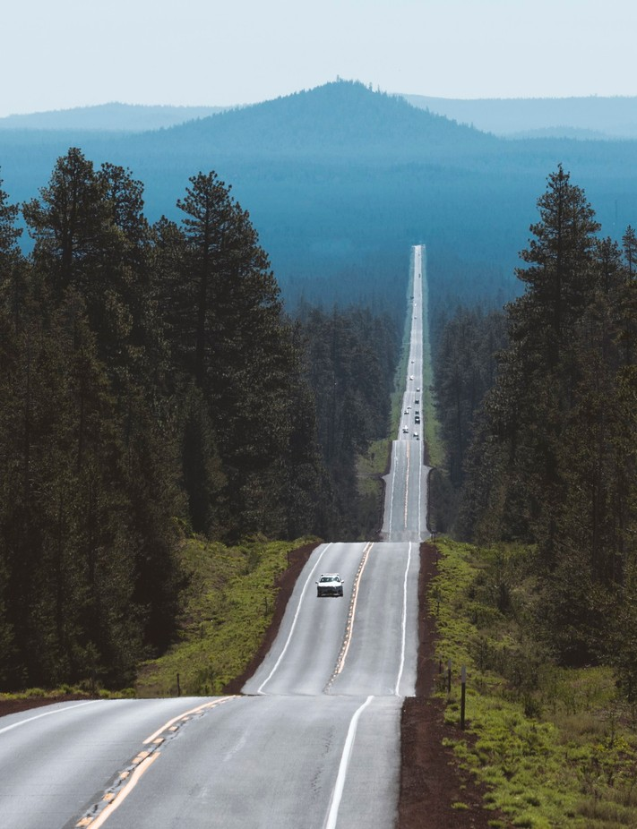 Highway 97 by clubby - A Road Trip Photo Contest