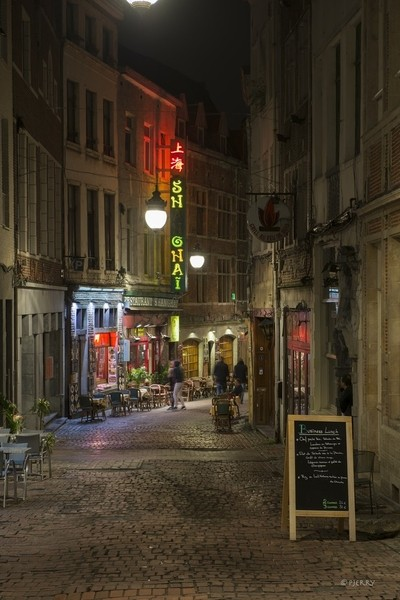 Small Alley in Brussels