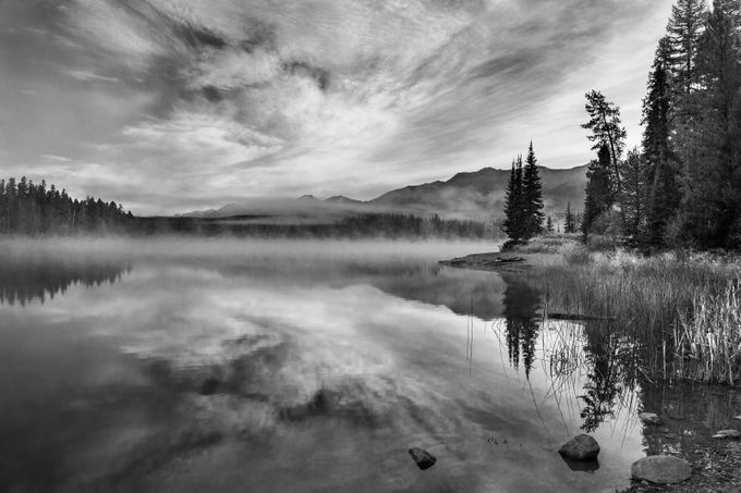 Rainy Lake by clfowler - Black And White Landscapes Photo Contest