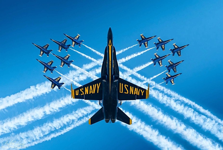 US Navy Blue Angels by Andrea Lynn Art & Photography