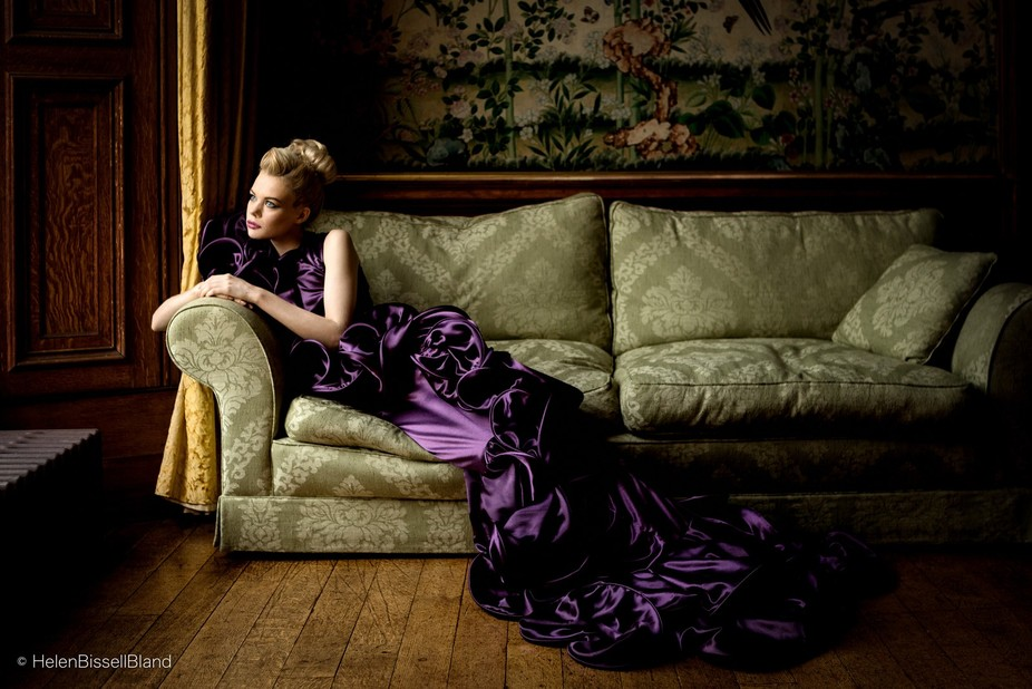 One from a Walter's wardrobe shoot at Sandon House