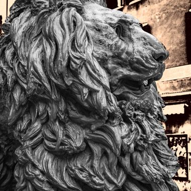 I was working o this picture while listening to big band music and this is what turned out. A digital vintage treatment of the Il Leone di Venezia (Lion of Venice).