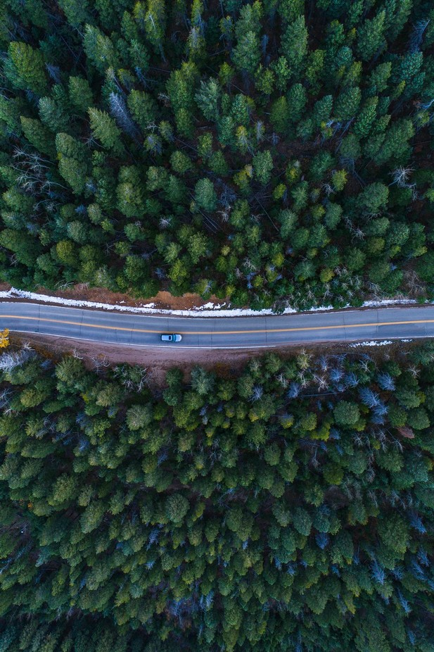 The intersection of man and nature by colelmore - Creative Landscapes Photo Contest
