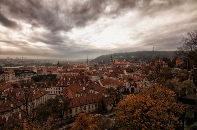 Autumn in Prague by YuliaTrubina - Rooftops Photo Contest 2018