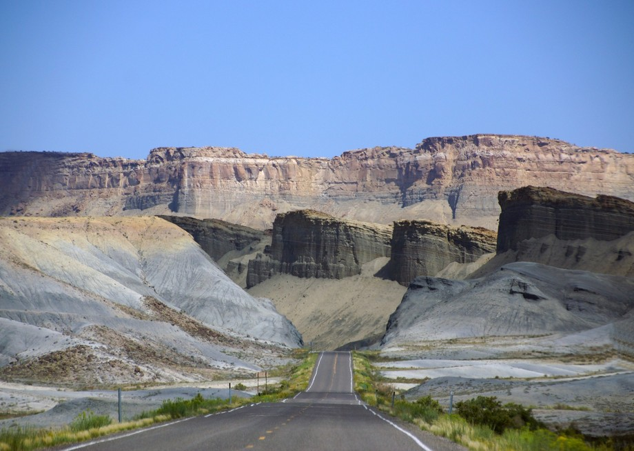 Capitol Reef NP road ends
