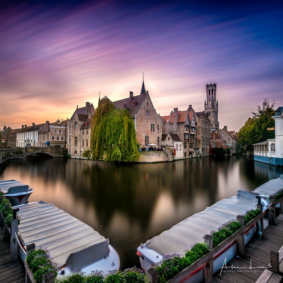Golden Hour In Bruges by aleclux - Social Exposure Photo Contest Vol 12