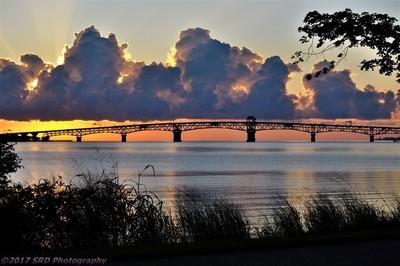 Clouds Over The Coleman Bridge