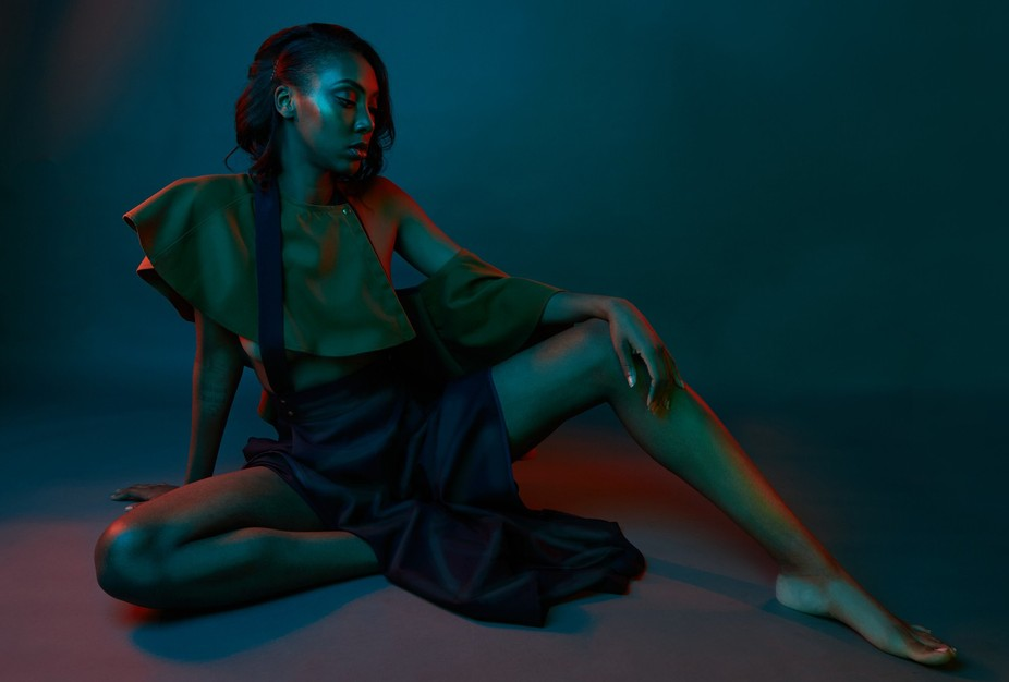 Recently did a little fashion creative with my friend and designer Beel Huang.